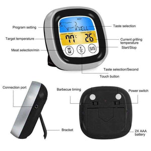 Wireless Bluetooth BBQ Thermometer - Shopping Gadgets at GadgetRock