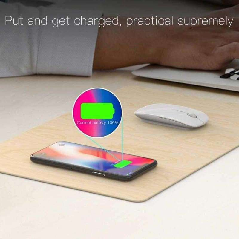 Wireless Mouse Pad Charger - eMalleu Gadgets Shop
