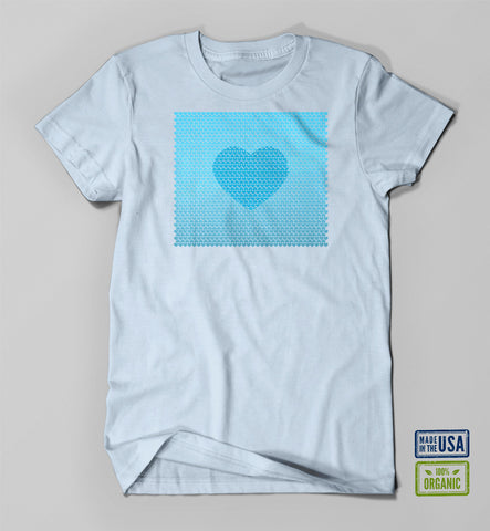 EJ Rudy: Ocean of Love (Sky, Unisex)