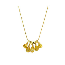 Load image into Gallery viewer, Iris Yellow Sapphire Necklace
