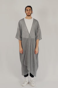 Jenin / Light Abaya — Grey