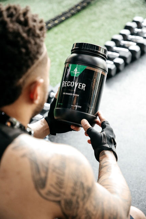 RECOVER gives you what your body needs after intense workouts.