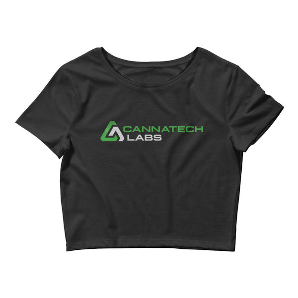 CannaTech Labs Women's Crop Tee