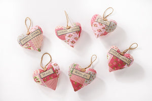 Patchwork hanging heart
