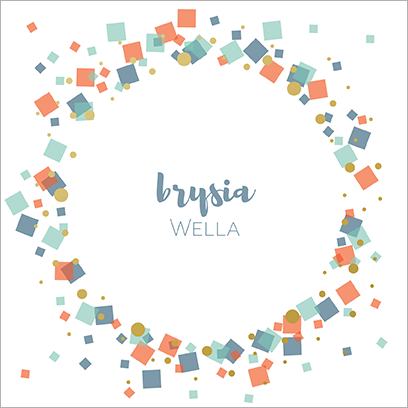 Get well soon card 'Brysia wella'