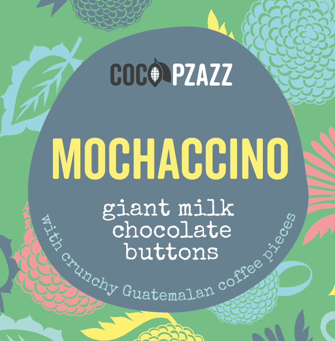 Welsh Giant Milk Chocolate Buttons - Mochaccino 96g
