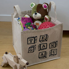 'Teganau' Welsh toys storage bag