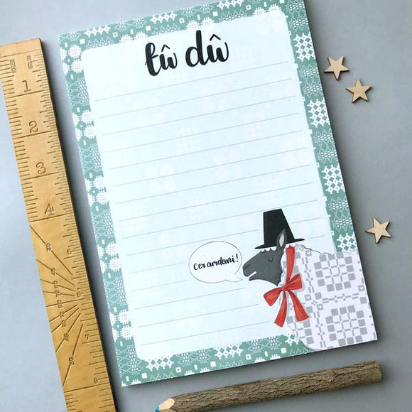 'Tw Dw' To Do List Notepad