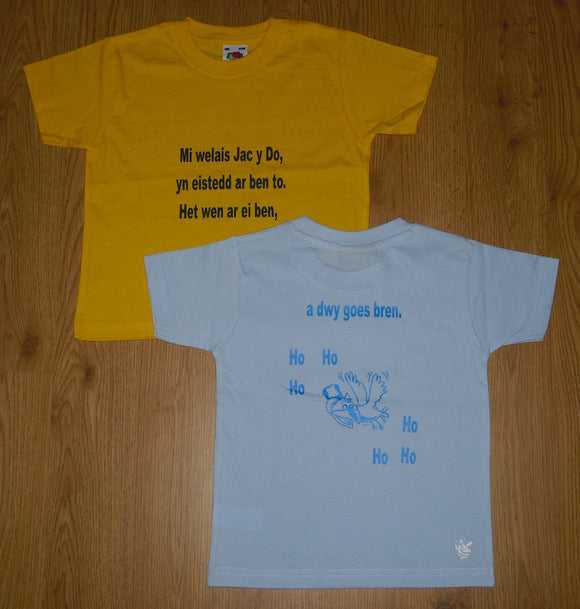 T-shirt 'Mi Welais Jac y Do'