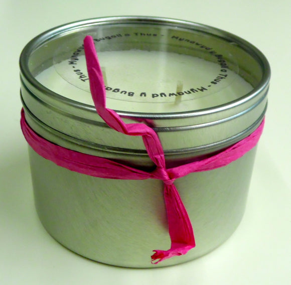 Rose Geranium and Frankincense Candle