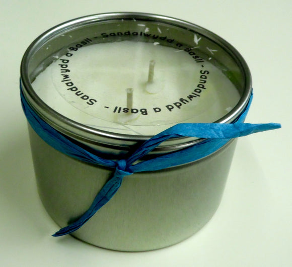 Sandalwood & Basil Candle