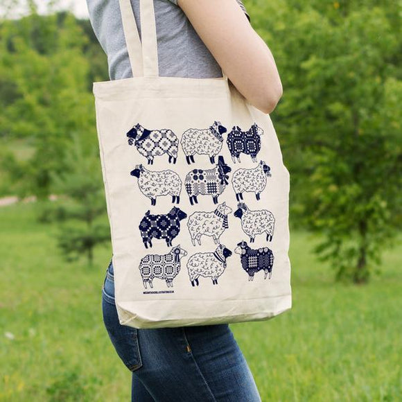 Welsh Sheep Tote Bag
