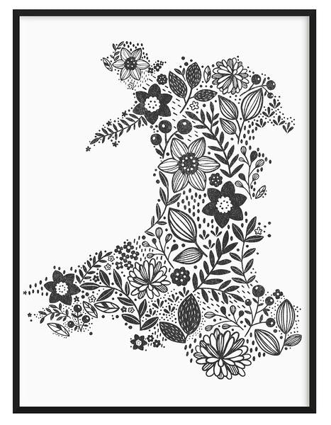 Wales in Bloom Print