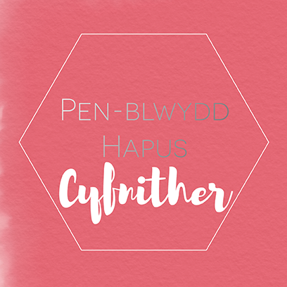 Birthday card 'Pen-blwydd hapus Cyfnither' Cousin (female)