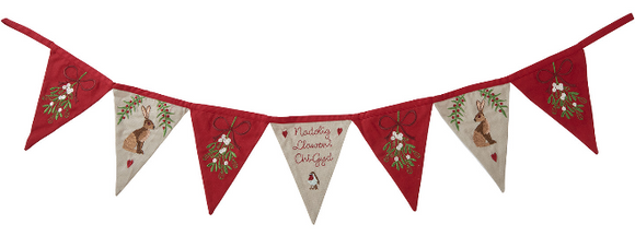 Welsh Christmas Bunting