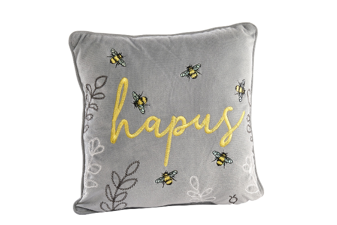 Grey 'Hapus' Cushion