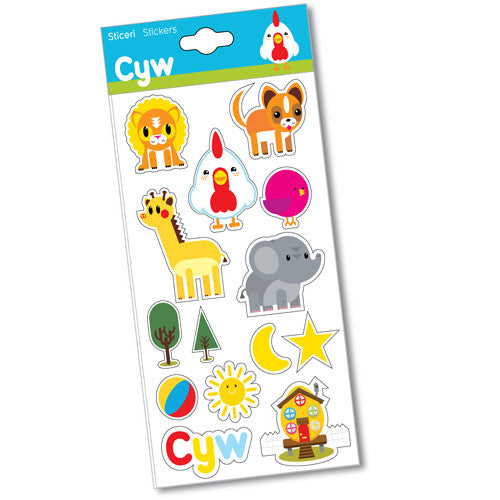 Cyw Stickers