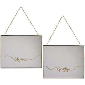 Mirror - 'Gorjys' or 'Stynar'
