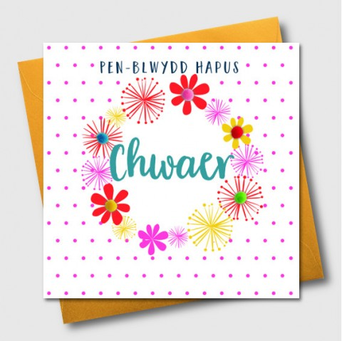 Cards For My Sisters Birthday Siop Cwlwm