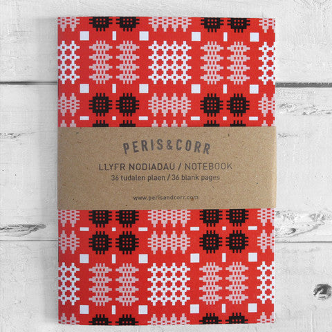Welsh Blanket Notebook