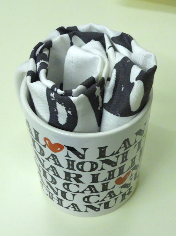 Mug & tea-towel set