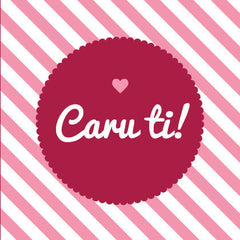 Love card 'Caru ti!'