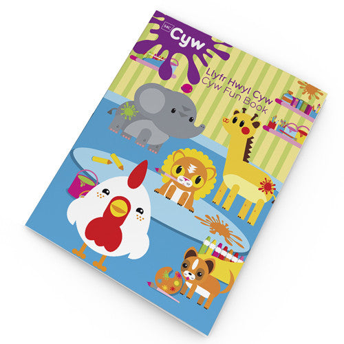 Cyw Colouring Book