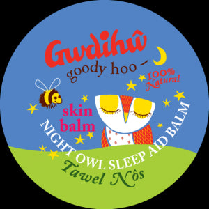 New! Gwdihw Night Owl Sleep Balm 25g