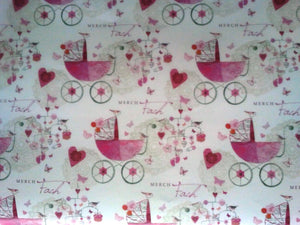 Wrapping paper 'Merch Fach' baby boy