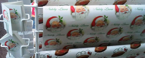 Wrapping paper 'Nadolig Llawen' Christmas Holly