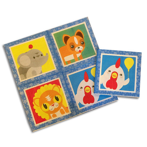 Cyw Party Napkins