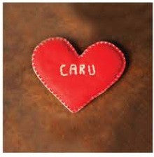 Love card 'Caru' cushion