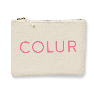 Colur zipped pouch
