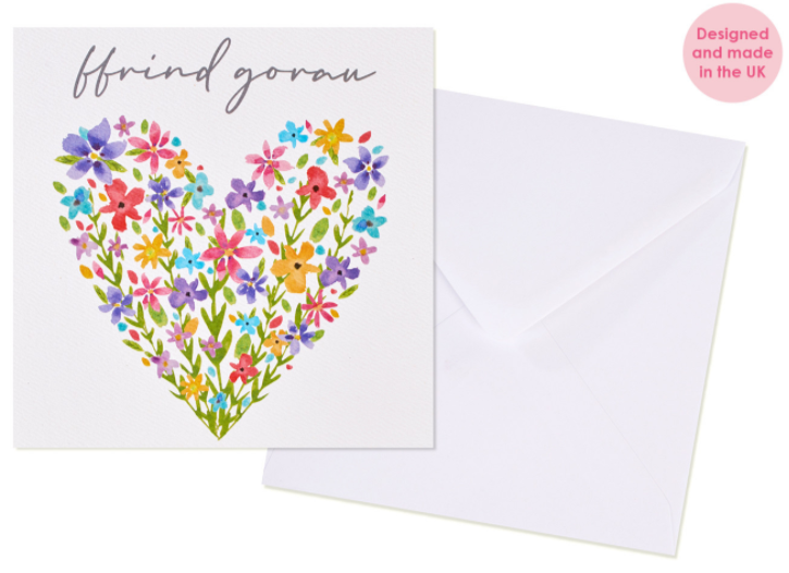 Greeting card 'Ffrind Gorau' best friend