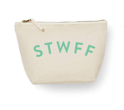 Stwff large zipped pouch