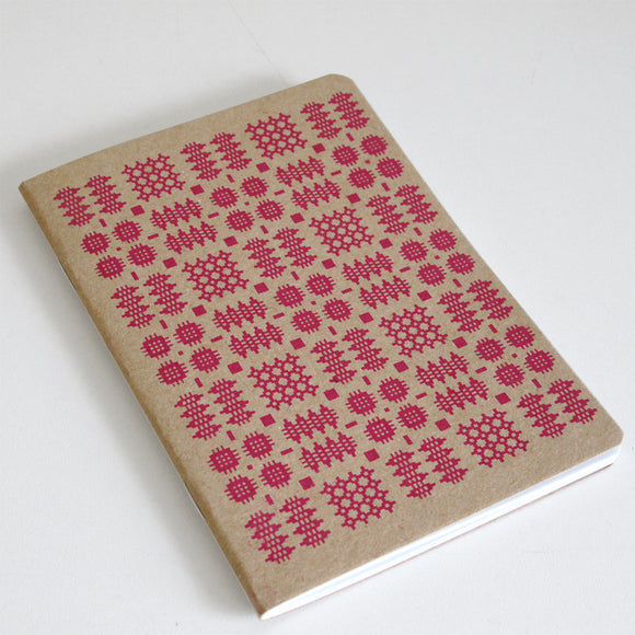 Welsh Blanket Print Note Book