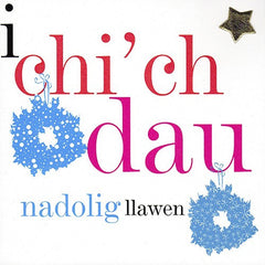 Christmas card 'I Chi'ch Dau' both of you
