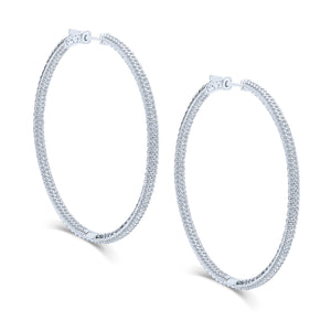 Kalia Hoop Earrings (Large)