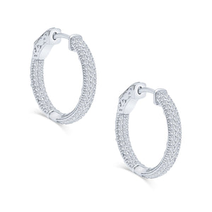 Kalia Hoop Earrings (Small)