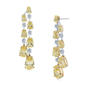 Xenia Earrings (Canary)