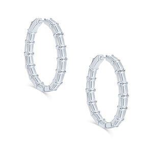 Savoy Hoop Earrings (Medium)