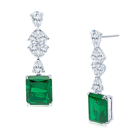 Rea Earrings (Emerald)