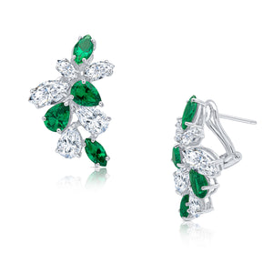 Mayfair Earrings (Emerald)