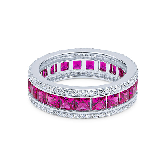 Anna-lisa Eternity Ring (Ruby)