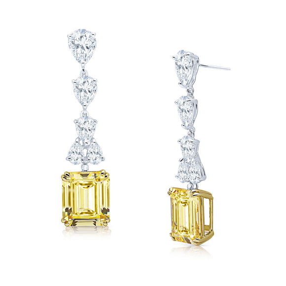 Marcella Earrings (Canary)