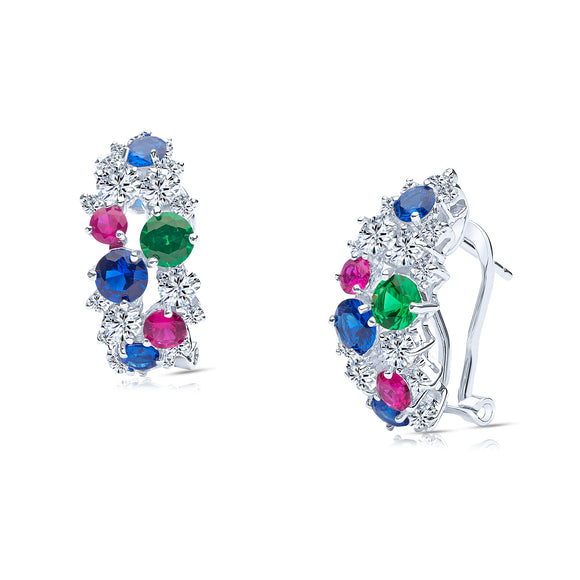 Livia Earrings (Multi-Colour)