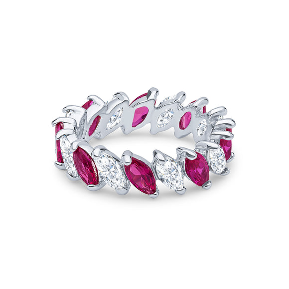 Demeter Eternity Ring (Ruby)