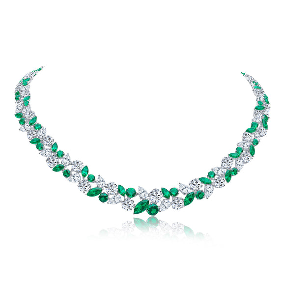 Mayfair Necklace (Emerald)