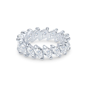Demeter Eternity Ring (All White)