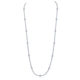 Francine Necklace (All White)